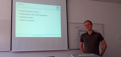 LinkedTV presentation in Pragua