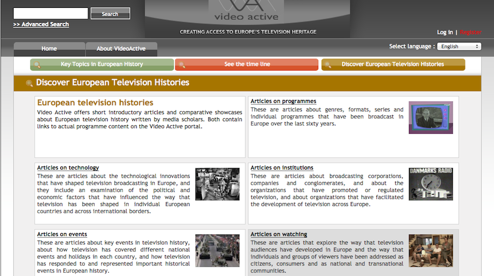 VideoActive portal