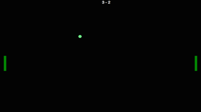 Pong Main Screen