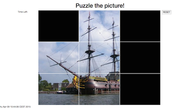 Main screen Picture Puzzle
