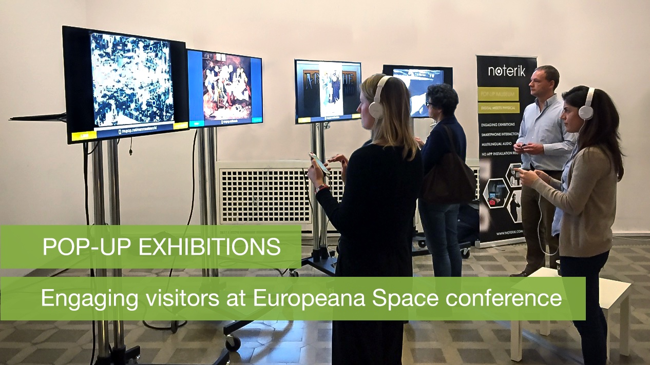 Engaging visitors of the Europeana Space conference in Berlin